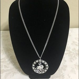 Sarah Coventry Swan Lake Fashion Necklace